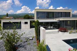 Unica Architektur AG: modern tarz Evler