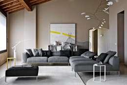 Salones de estilo moderno de Campbell Watson