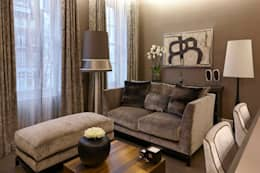 Queens Gate : classic Living room by Keir Townsend Ltd.
