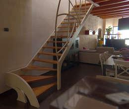 mediterranean Dining room by Studio Architettura Arch. Francesca Tronci