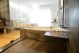 Spa de estilo moderno por STUDIO ZERO 30