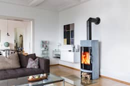 Kaminofen Vega   Ganz Schön Effizient: Moderne Wohnzimmer Von Tiba AG