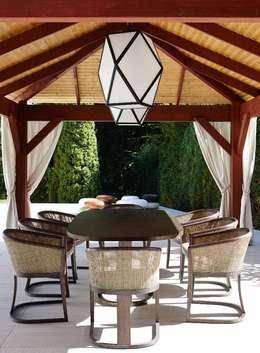 Projekty,  Ogród zaprojektowane przez Keir Townsend Ltd.