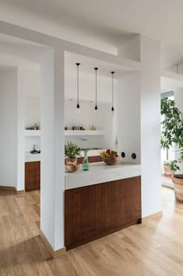 Cozinhas minimalistas por Cecilia Fossati