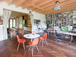 Müllers Büro의  서재 & 사무실
