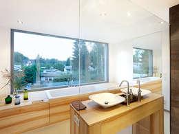 Projekty,  Łazienka zaprojektowane przez Müllers Büro