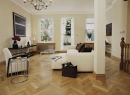 Walls & flooring by The Natural Wood Floor Company