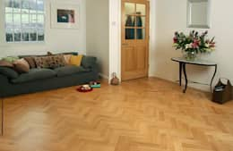 Walls & flooring تنفيذ The Natural Wood Floor Company