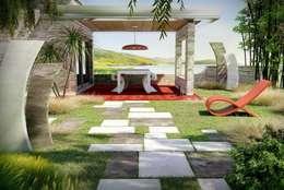 Jardines de estilo moderno por BRADSTONE