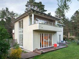 Casas de estilo rural por Müllers Büro