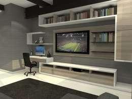 TB1504: Estudios y oficinas de estilo moderno por Arq. Jacobo Smeke