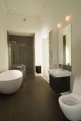 modern Bathroom by David Village Lighting