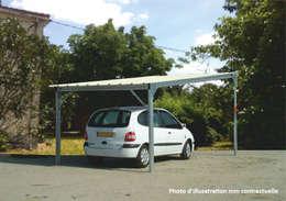 7 garages et abris de voiture abordables for Garage per auto modulari 3