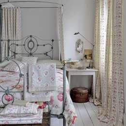 غرفة نوم تنفيذ Curtains Made Simple