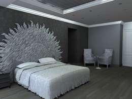 Arq. Jacobo Smeke: modern tarz Yatak Odası