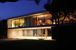 Casas de estilo moderno por DF ARQUITECTOS