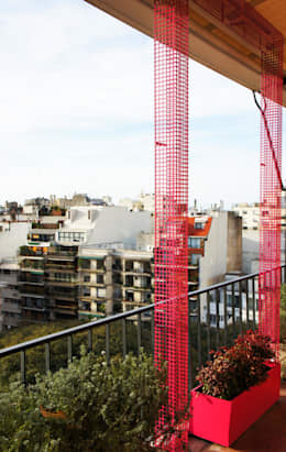 Projekty,  Taras zaprojektowane przez Estudio Nicolas Pierry: Diseño en Arquitectura de Paisajes & Jardines