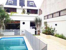 moderne Tuin door Estudio Nicolas Pierry: Diseño en Arquitectura de Paisajes & Jardines