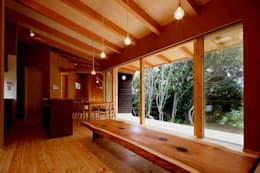 リビング: 後藤建築設計が手掛けたリビングです。