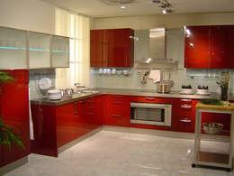colonial Kitchen by Dekorasyon Şirketi