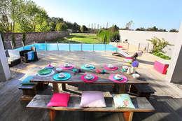 Jardines de estilo mediterraneo por ROSA PURA HOME STORE
