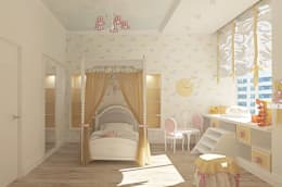 ООО 'Студио-ТА': eklektik tarz tarz Yatak Odası