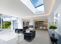 Livings de estilo minimalista por Gritzmann Architekten
