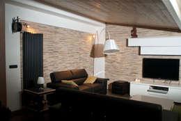 غرفة المعيشة تنفيذ francesca ravidà    architetto | interior designer