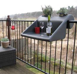 Varanda, marquise e terraço  por Anchovisdesign