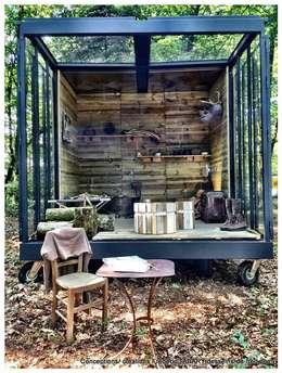 Projekty,  Ogród zaprojektowane przez Tabary Le Lay