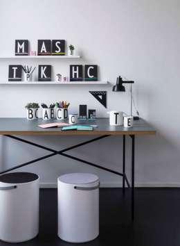 scandinavian Study/office by Design Letters