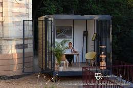 Jardines de estilo moderno por Tabary Le Lay
