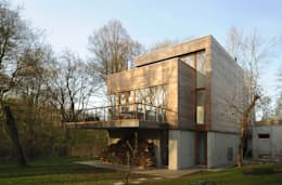 modern Houses by Carlos Zwick Architekten