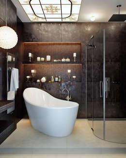 EJ Studio: klasik tarz tarz Banyo