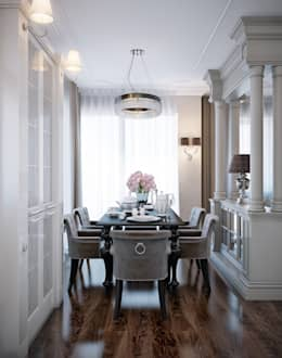 classic Dining room by EJ Studio