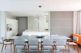 Projekty,  Jadalnia zaprojektowane przez Consuelo Jorge Arquitetos