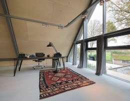 Рабочие кабинеты в . Автор – Blok Kats van Veen Architecten