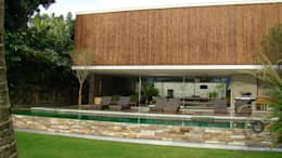 Casas de estilo topical por BAMBU CARBONO ZERO