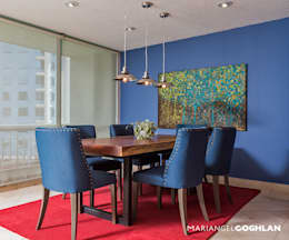 Comedor: Comedores de estilo moderno por MARIANGEL COGHLAN