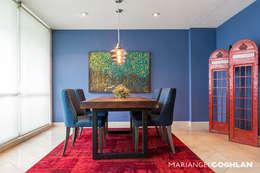 modern Dining room by MARIANGEL COGHLAN