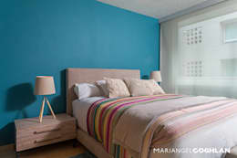 Habitaciones de estilo moderno por MARIANGEL COGHLAN