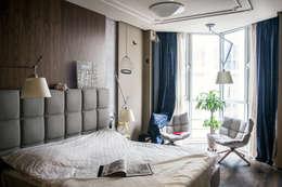 Квартира для молодоженов: Спальни в . Автор – ToTaste.studio