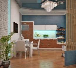 Студия дизайна Interior Design IDEAS: modern tarz Mutfak