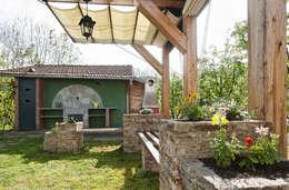 Jardines de estilo rústico por Federico Vota design