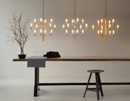 modern Dining room by Herstal A/S