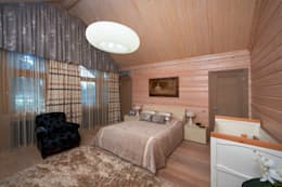 modern Bedroom by Woody-Holzhaus - Kontio