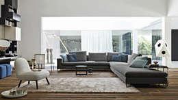 Salon de style de style Moderne par Campbell Watson