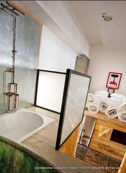 Tabary Le Lay : endüstriyel tarz tarz Banyo
