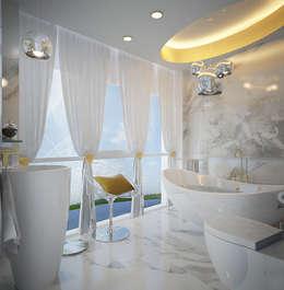 ФЕН-ШУЙ: Ванные комнаты в . Автор – Biriukova Ievgeniia