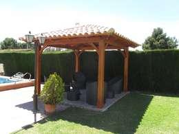 Jardines de estilo clásico por Ático y Jardín